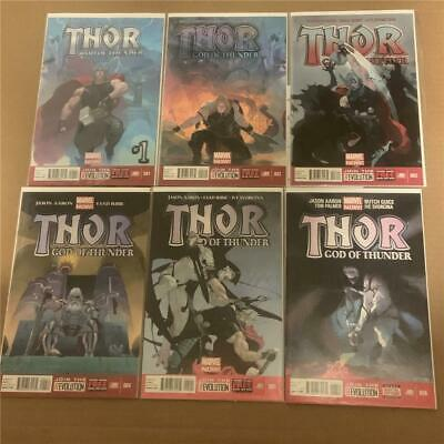 Thor God of Thunder 1-25 complete VF-NM Jason Aaron Jane Foster Gorr 2 6