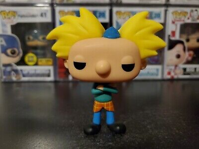 Funko Pop! Hey Arnold! Arnold Shortman #324 OOB Out of Box Loose Vinyl Figure