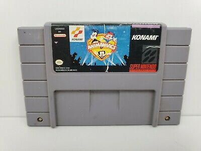 Animaniacs (Super Nintendo Entertainment System 1994) Cartridge Game Only Tested