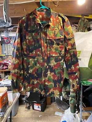 Swiss Army Camouflage Field Jacket