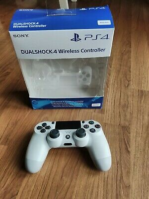 PS4 dualshock 4 DS4 official sony controller White