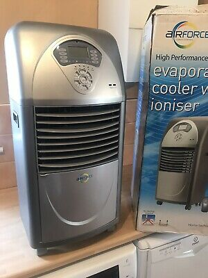 **Superb* Airforce Bqwac-414 Air Cooler With Freezer Element, Ioniser & Uv & Box