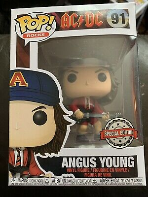Funko Pop Angus Young #91 Limited Edition AC/DC Brand New