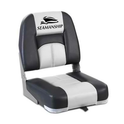 2X Folding Boat Seats Seat Marine Seating Set Swivels All Weather