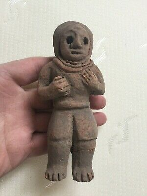 Rare ancient Terracotta Indus Valley fertility pottery idol , 2000 bc
