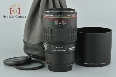 Excellent!! Canon EF 100mm f/2.8 L MACRO IS USM