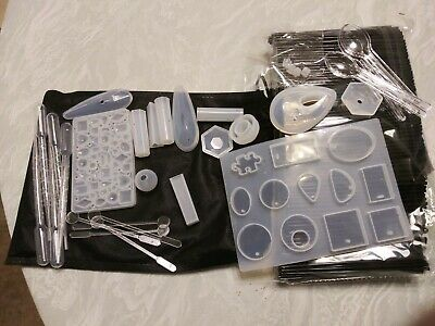 NWOT - Resin Jewelry Craft Molds & Various Accessories