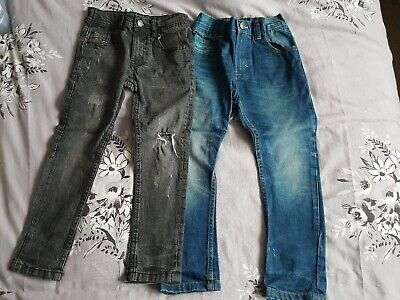 2 Pairs Boys Jeans Age 5
