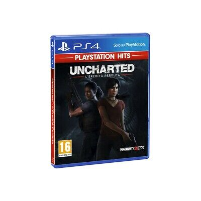 Ps4 Gioco Uncharted L'eredita Perduta Playstation Hit Ita Originale Sigillato