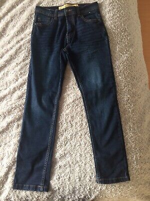 Boys Blue Skinny Jeans Aged 9-10 Yeara New Without Tags