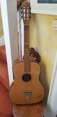 Vintage 6 String Horby Acoustic Guitar Musical Instrument