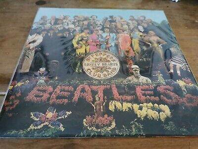 The Beatles - Sgt Peppers Lonely Hearts Club Band Vinyl Lp Mono 2014 Remaster