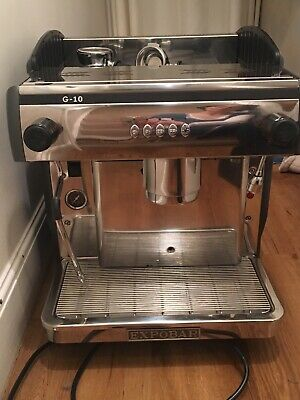 Expobar G10 Professional Barista Coffee Machine (1 group). Excellent condition.