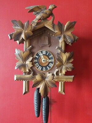 Large Old Cuckoo Clock in GWO by REGULA