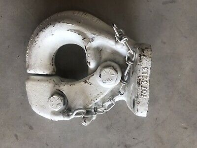 MADE IN USA. Wallace Forge T-15 Ton T-Bracket Spring Mount Pintle Hook 1