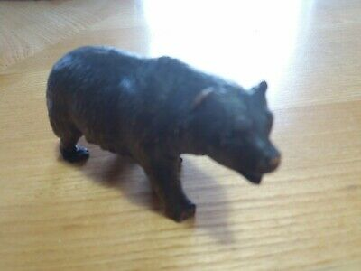 Another Antique Black Forest Carved Wooden Bear