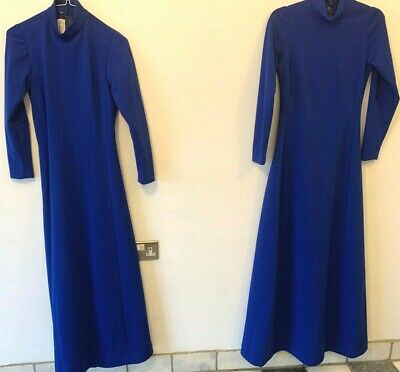 Ex BBC Royal Blue maxi dresses 1 size 6 and 1 size 10