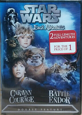 Star Wars Ewok Adventures: Caravan of Courage / The Battle for Endor./ Region 1