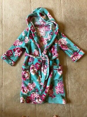Lovely Girl's Monsoon Dressing Gown. Age 5-6 yrs. Great Condition!
