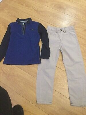 TED BAKER 8y BOYS Trousers  & Top  OUTFIT AGE 8 YEARS