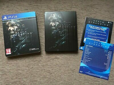 Death Stranding SPECIAL EDITION steelbook on Sony PlayStation 4 PS4 NO GAME DISC