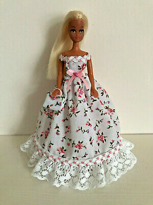 Floral Dress to fit Palitoy 6.5 inch Pippa / Dawn Doll