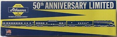 Athearn 50Th Golden Anniversary Limited Edition Passenger Set New Ob 1010
