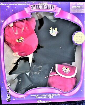 """Disney Sweethearts  18"""" Doll Outfit Clothes With Backpack For Hiking"""