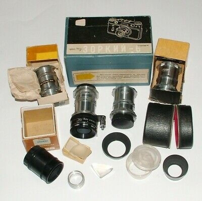 Vintage 1950,s/60's Photographic Camera Equipment, Ihagee, Zorki, Pentax, Agfa