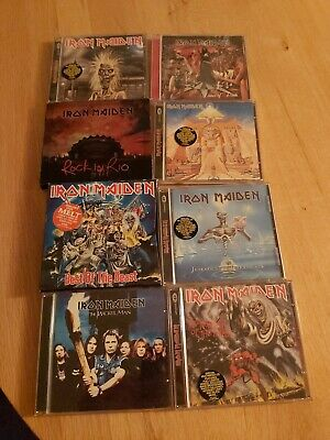 Iron maiden cds including Killlers, number of the beast and others