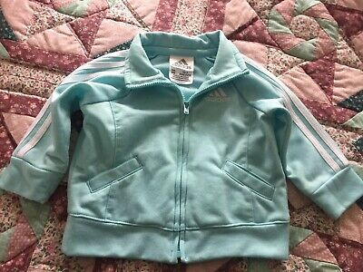 Adidas Baby Zip Top Age 6 Months