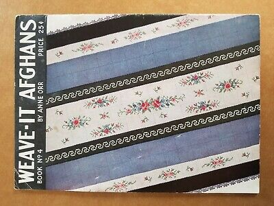 Circa 1935 Hardanger And Weave It Afghan Books