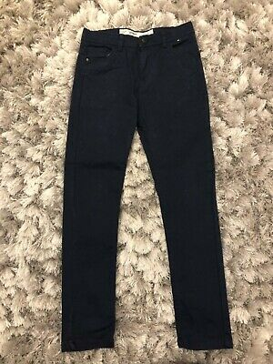 Boys Dark Blue Skinny Fit Fashion Jeans Trousers Age 9/10 yrs Ex Con Hardly Worn
