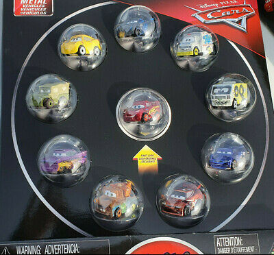 Disney Pixar Cars Mini Races voiture lot de 10 en métal micro