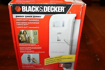 Black And Decker Lights Out Auto Switch New