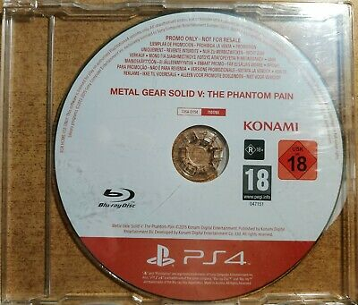 Metal Gear Solid V The Phantom Pain PROMO – PS4 (Full Promotional Game Very Rare