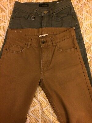 Boys/Youths H&M/Zara Man Jeans Size 29in Waist Age 14+ 170cm Skinny Job Lot