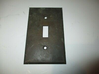 Antique single gang Solid Brass toggle solid Light Switch Cover Plate