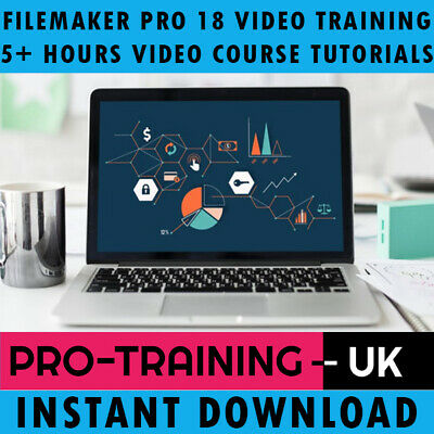 FileMaker Pro 18 Video Training Tutorial Pro Course 5+ Hours - Instant Download