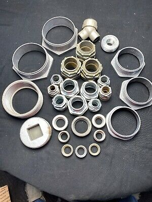 Reducers/ Diff Size Sealtight Connectors/ Plugs Lot Of 29