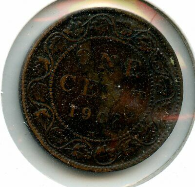 Weeda Canada 1907H Large Cent, see scans