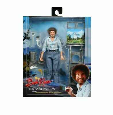 "Bob Ross – 8"" Clothed Action Figure – Bob Ross - NECA"