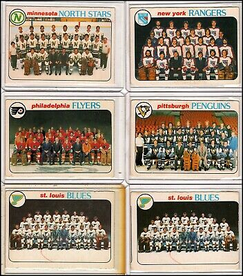 12 - 1978-1979 O-Pee-Chee NHL Team Checklists Card Lot with Larry Robinson!