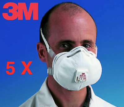3M N95 Approved Respirator Face Mask Dust Hygiene Mask - Individually Wrapped