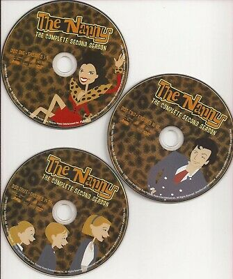 The Nanny The Complete Second Season 2 (DVD, 3-Disc Set) U.S. Issue Disc Only