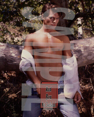 #35 Jeff Stryker Rare photo signed Jeff Stryker limited edition numbered. Nud e