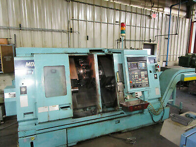 Mori Seiki DL-20MC Dual Spindle, Dual Turret 6-axis CNC Lathe with Live Tools