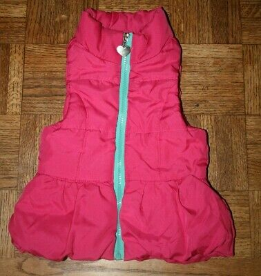 Toddler Girls One Step Up Pink Puffer Vest Size 3T