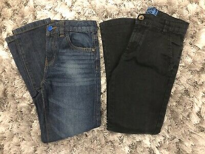 Blue Zoo Debenhams 2 pairs of Boys Jeans Trousers Age 8 yrs Ex Cond Hardly Worn