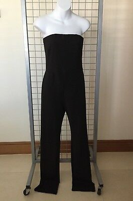 BNWT Patricia Field for M&S Marks & Spencer Jumpsuit Size 12 Black